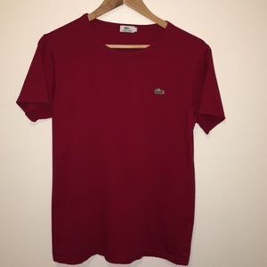 Lacoste Red Tee Shirt